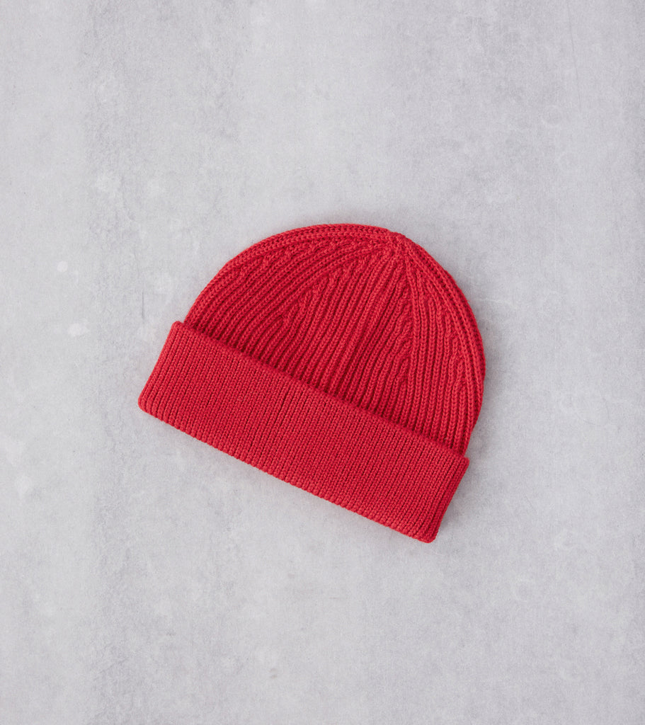 Division Road Andersen-Andersen Medium Knit Beanie - Red