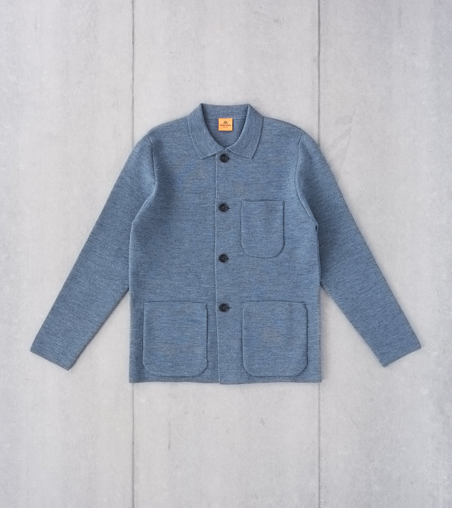 Division Road Andersen-Andersen Work Jacket - Light Indigo