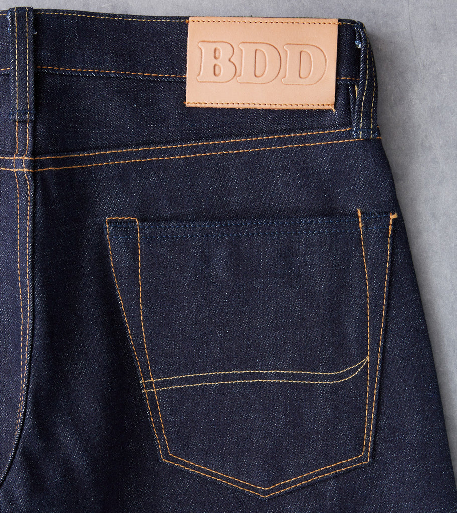 Benzak Denim Developers - BDD-006 - Mid Slim - 15.7oz Deep Indigo Division Road