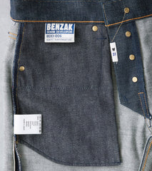 Benzak Denim Developers - BDD-006 - Mid Slim - 15oz Green Cast Division Road