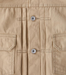 Division Road Iron Heart 84-J - Type II - 12oz Selvedge Chino Beige