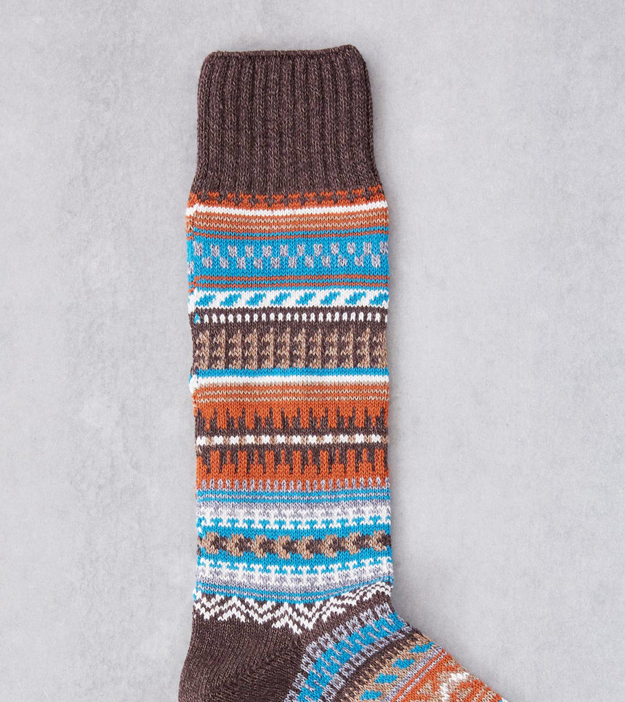 Division Road Chup Socks - Butte - Chocolate