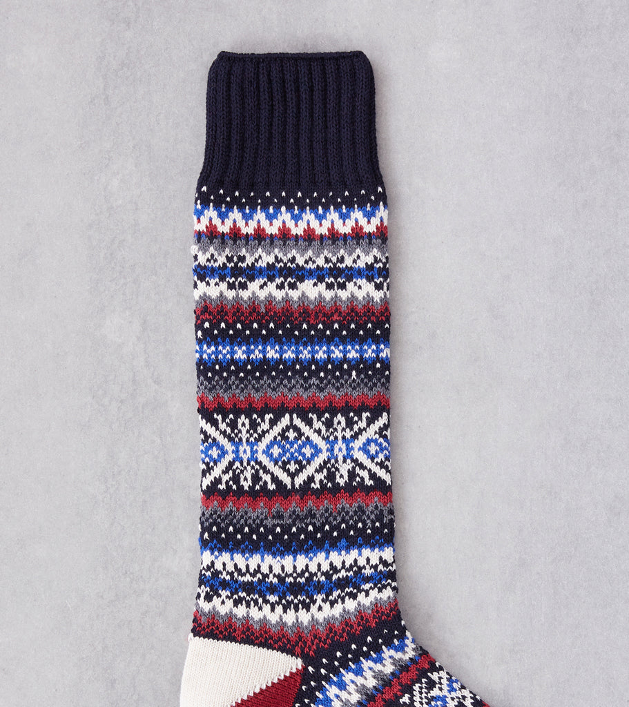 Division Road Chup Socks - Snjor - Anchor