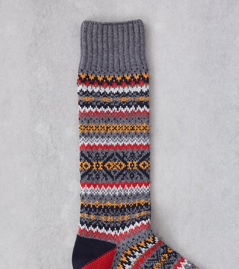 Division Road Chup Socks - Snjor - Steel Grey