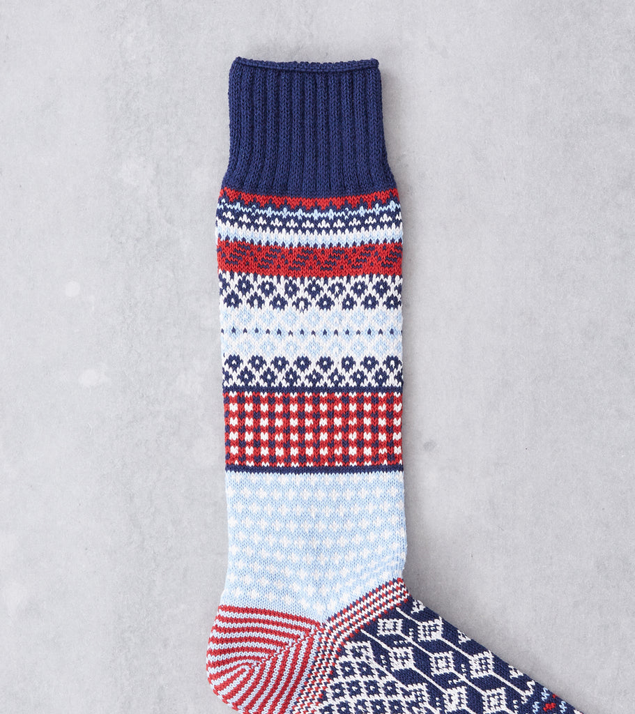 Chup Socks - Tallinn - Ink Blue Division Road