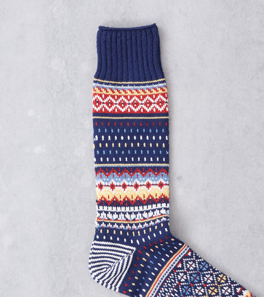 Chup Socks - Viti - Space Blue Division Road