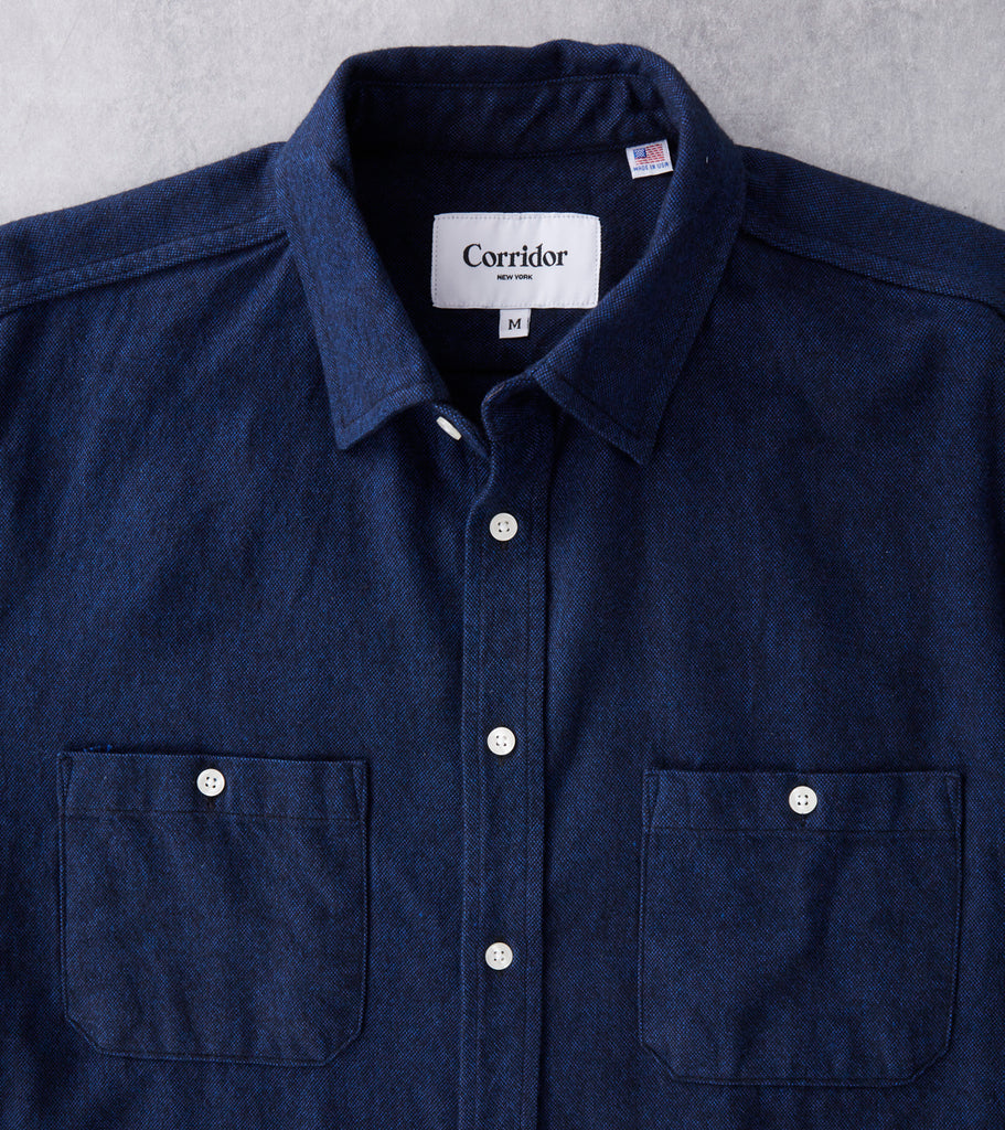 Brushed Flannel - Blue