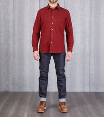 Brushed Flannel - Red