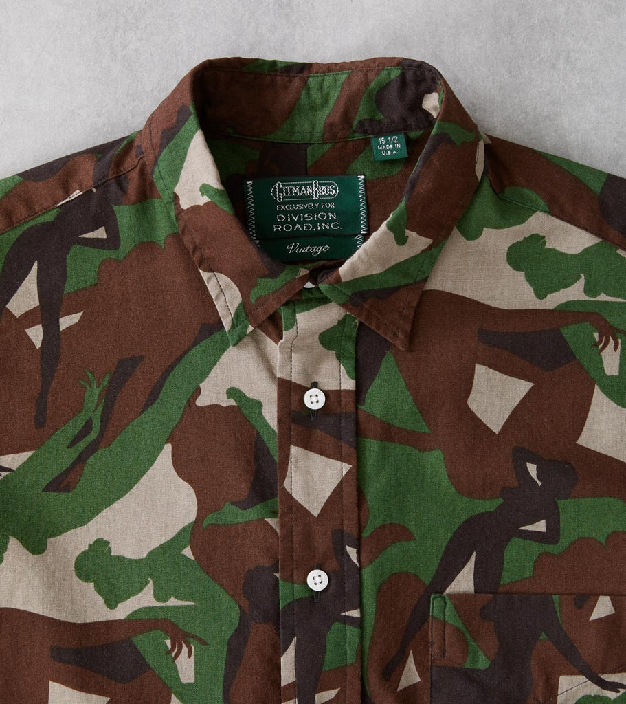 Division Road Gitman Vintage x DR Camouflage Pin-Up Print