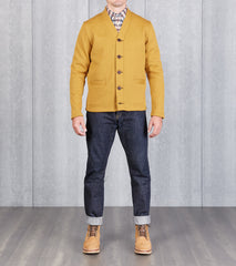 Dehen 1920 x DR Collegiate Cardigan - Old Gold Division Road