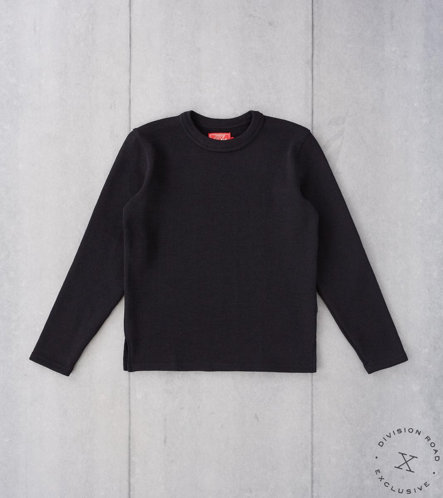 Division Road Dehen 1920 x DR Crewneck Sweater - Black