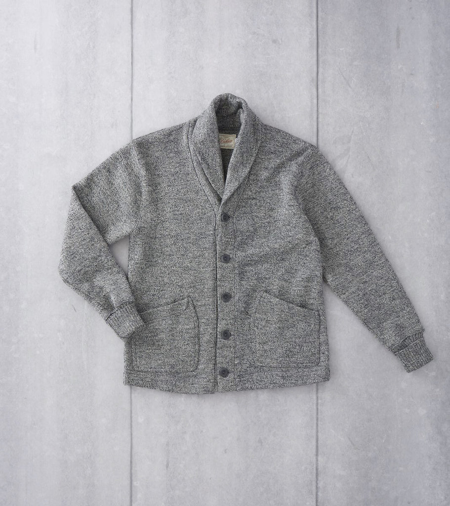 Dehen 1920 Shawl Cardigan - Salt & Pepper Division Road