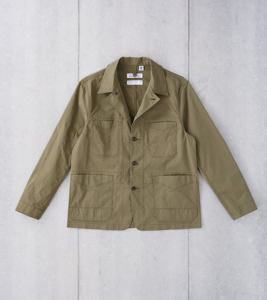 Division Road Eastlogue Permanent Collection Logger Jacket - Olive Drab