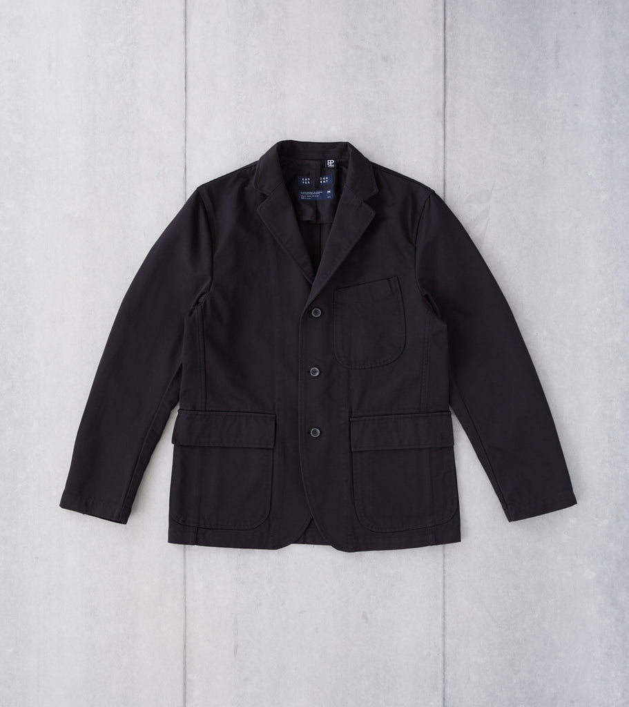 Division Road Eastlogue Permanent Collection Brunch Jacket - Black
