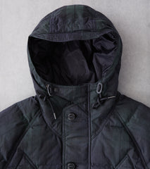 Division Road Eastlogue Utility Shield Parka - Waxed Black Watch