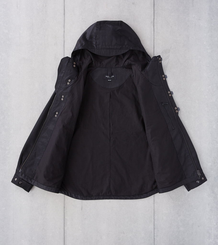 Division Road Eastlogue Deck Parka - Black Twill