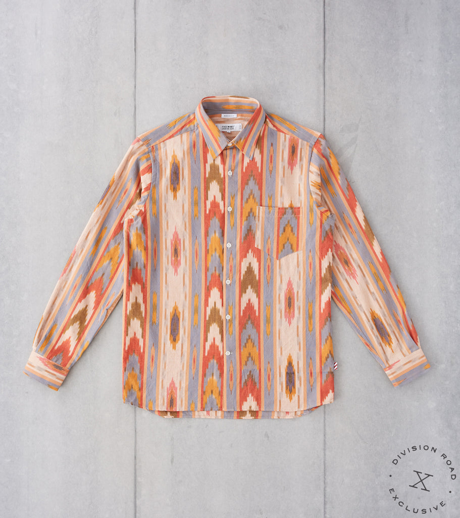 Division Road Freemans Sporting Club CS-1 Shirt - Big Ikat