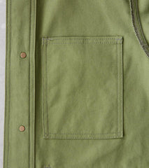 Division Road Freemans Sporting Club Chore Jacket - 10oz Organic Duck Canvas - Cactus