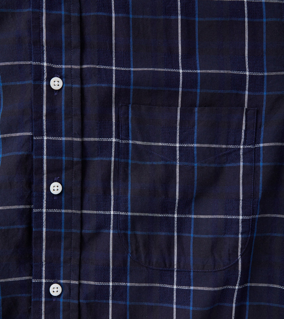 Japanese Fancy Plaid - Indigo