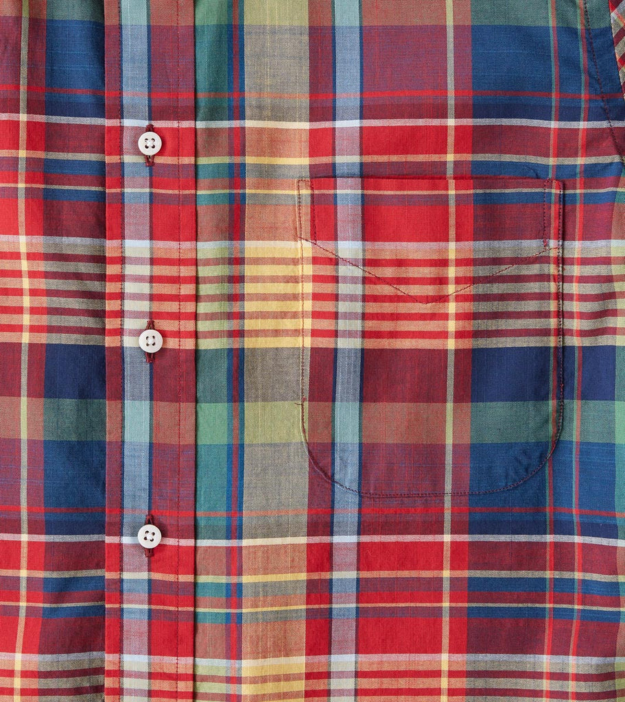 Division Road Gitman Vintage Archive Madras - Red & Yellow