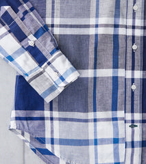 Big Madras Check - Blue