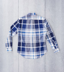 Gitman Vintage Big Madras Check - Blue - Division Road