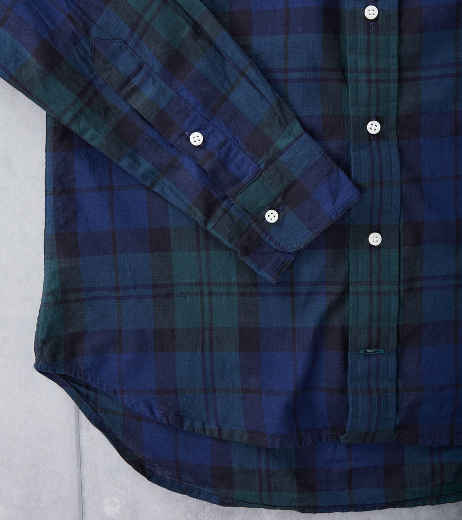 Gitman Vintage Blackwatch Madras - Division Road
