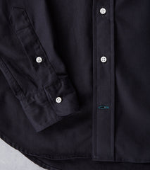 Gitman Vintage Japanese Selvedge Twill - Black Division Road Shirt Button up