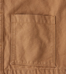 Home Work Blanket Lined Duck Canvas Work Jacket - Brown Division Road