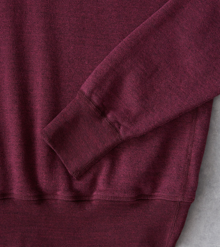 Division Road National Athletic Goods - Shawl Pullover - Wine