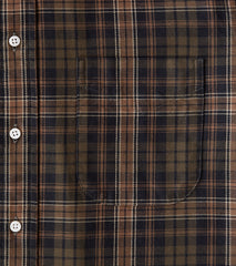Division Road Gitman Vintage x DR Interwoven Check Twill - Olive