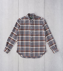 Division Road Gitman Vintage Japanese Country Plaid - Grey