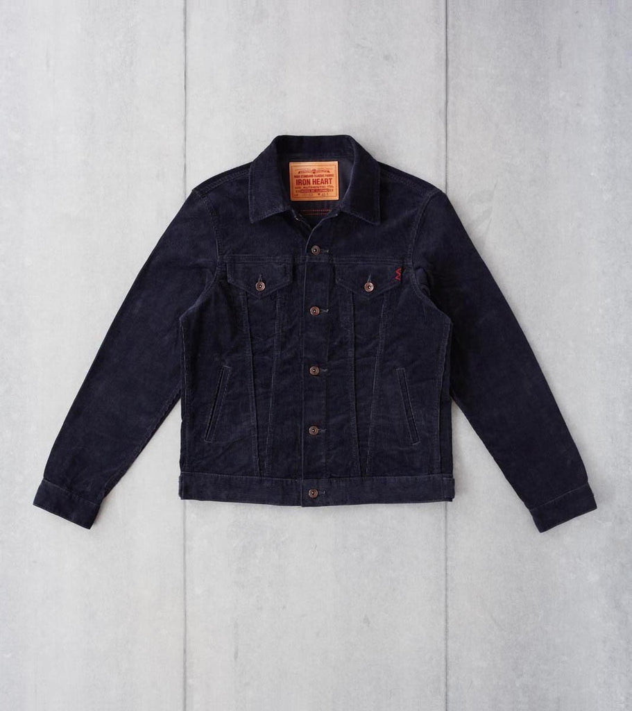 Iron Heart 69-J - Modified Type III - 14w Corduroy Black Division Road