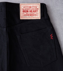 888S-142bb - High Rise Tapered - 14oz Black x Black