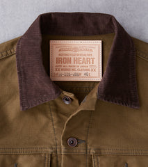 Iron Heart 526-ODG - Modified Type III - 11oz Whipcord Olive Drab Division Road