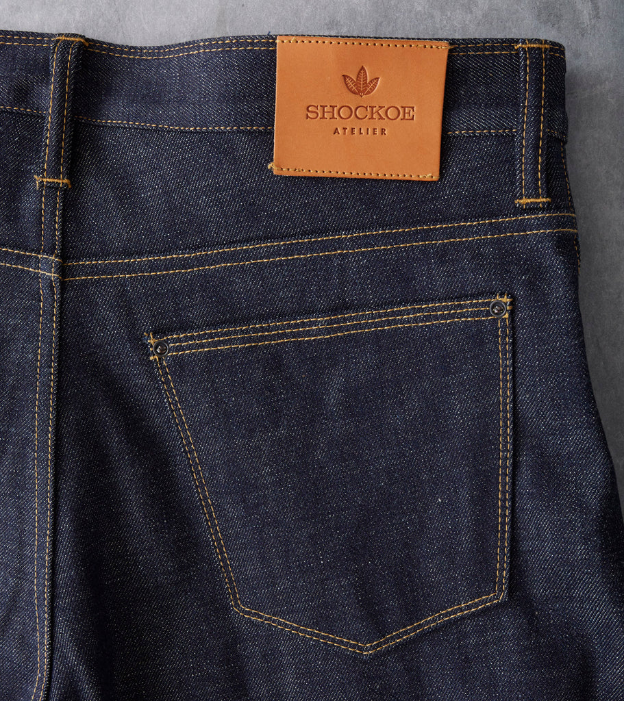Wheeler Denim in the Relaxed fit by Shockoe Atelier Division Road