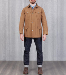 Division Road MotivMfg x DR English P60 Combat Jacket - Brass Japanese Cotton/Nylon Canvas