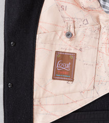 Division Road MotivMfg x DR English Dress Hunt Jacket - Lovat® Anthracite Thornproof Hopsack