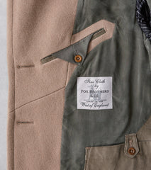 Division Road MotivMfg x DR English Officer Great Coat - Fox Brothers® British Warm Churchill Overcoating