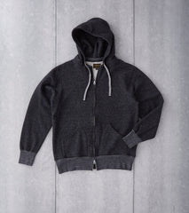 National Athletic Goods - Zip Parka - Black Division Road