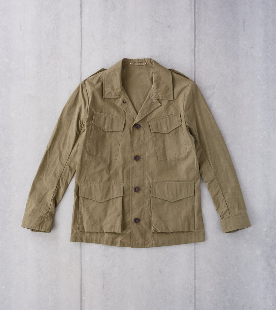 Private White V.C. Revere Field Jacket - Olive Division Road
