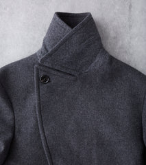 Cashmere Blend Great Overcoat - Grey