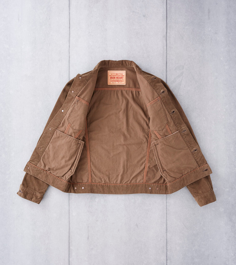 70-J - Modified Type III - 13w Corduroy Brown