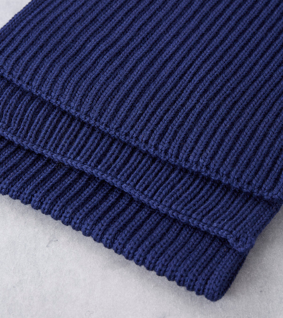 Andersen-Andersen Wide Knit Scarf - Royal Blue Division Road