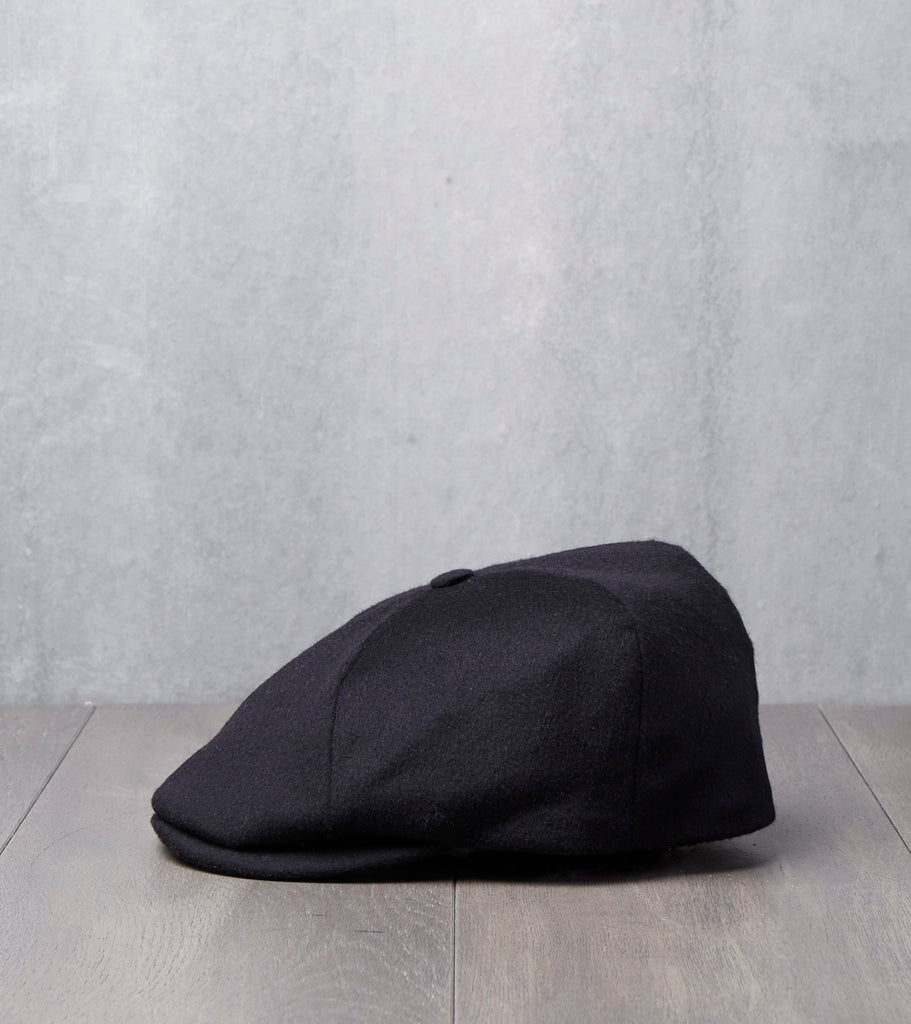 Toni Cap - Loden Wool - Black