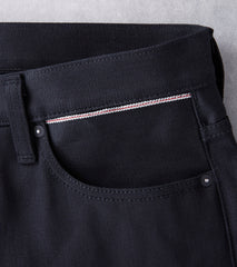 Benzak Denim Developers - BDDxDR-711 - Black+Black - 14oz Division Road