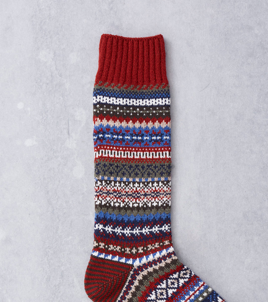 Chup Socks - Lampaat - Scarlet Division Road
