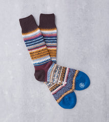Chup Socks - Mezs - Chocolate Division Road