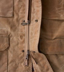 Corridor NYC M65 Jacket - 10oz Waxed Army Duck - Field Tan Division Road