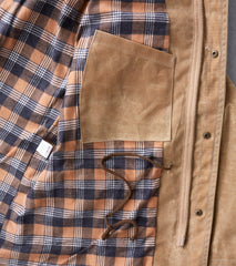 M65 - 10oz Waxed Army Duck - Field Tan